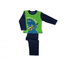 Pižama DINOZAVER zelena