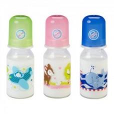 BABY-NOVA steklenička z vzorcem 125 ml
