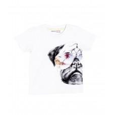 Kratka majica Cool Dog - bela