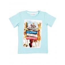 Kratka majica Beach - modra
