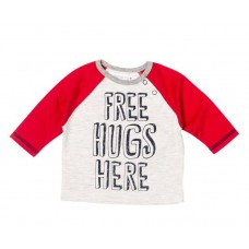 Majica Free Hugs - rdeča