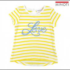 Kratka majica Love Rumena