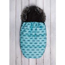 Zimska vreča - svetlo modra