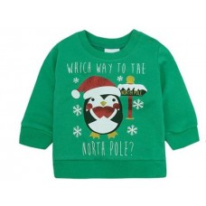 Božična majica zelena