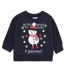 Božična majica snežak