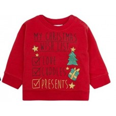 Božična majica rdeča