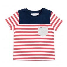 Kratka majica Rdeča