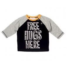 Majica Free Hugs - črna