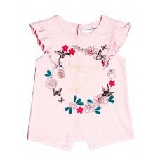 Kratka majica Happy - roza